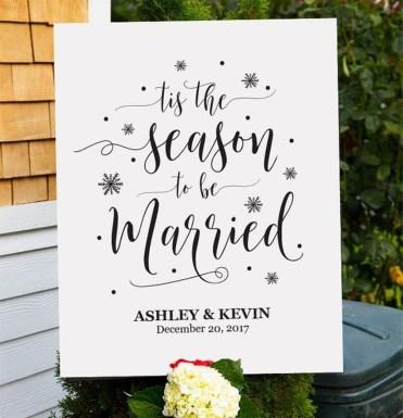 Popular Winter Wonderland Wedding Invitations Ideas02
