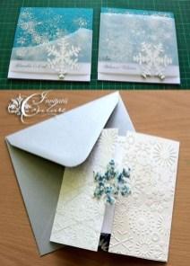Popular Winter Wonderland Wedding Invitations Ideas04