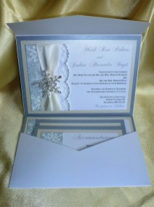 Popular Winter Wonderland Wedding Invitations Ideas05