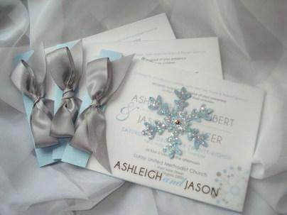 Popular Winter Wonderland Wedding Invitations Ideas14