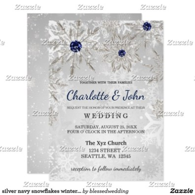 Popular Winter Wonderland Wedding Invitations Ideas29