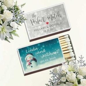 Popular Winter Wonderland Wedding Invitations Ideas34