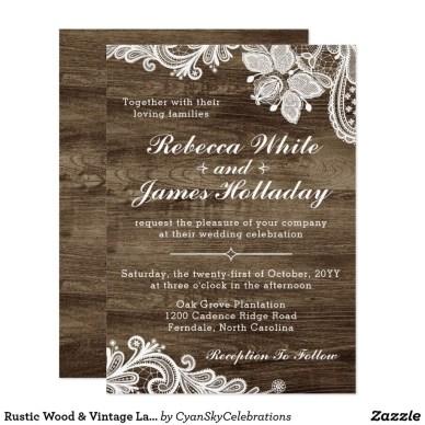 Romantic Rustic Winter Wedding Invitations Ideas06