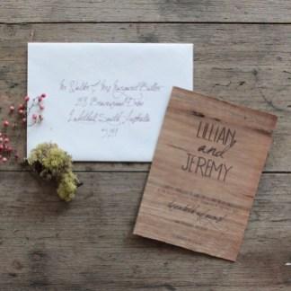 Romantic Rustic Winter Wedding Invitations Ideas33