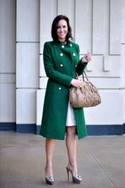 Stylish Emerald Coats Ideas For Winter19