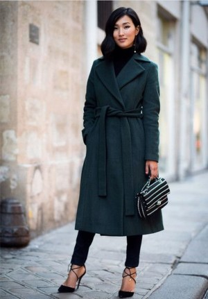 Stylish Emerald Coats Ideas For Winter24