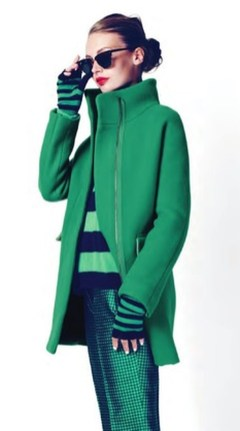 Stylish Emerald Coats Ideas For Winter26