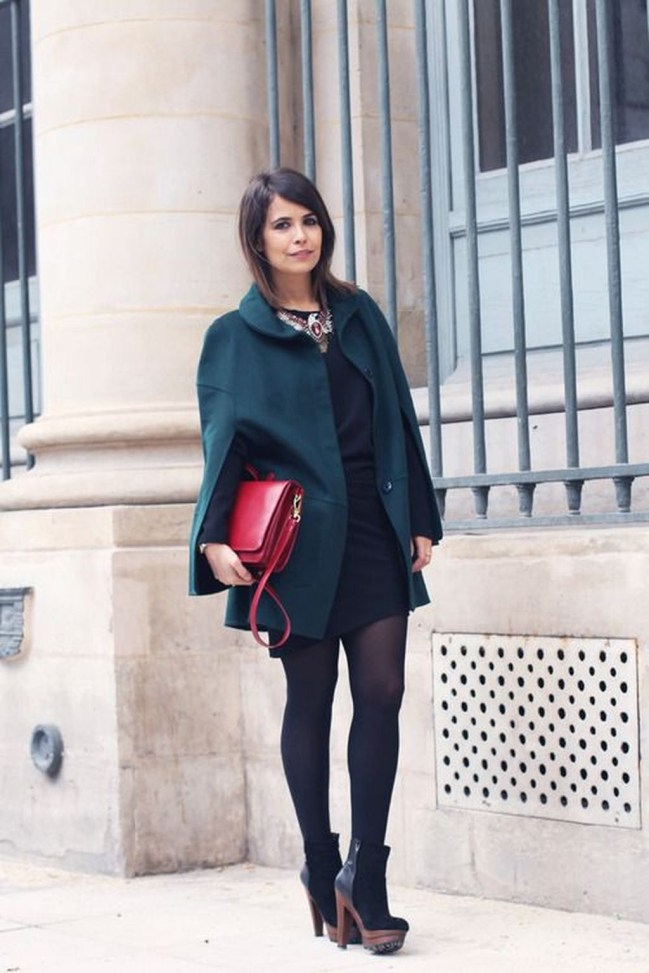 Stylish Emerald Coats Ideas For Winter37