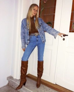 Adorable Winter Outfits Ideas With Jeans01