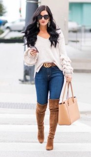 Adorable Winter Outfits Ideas With Jeans02