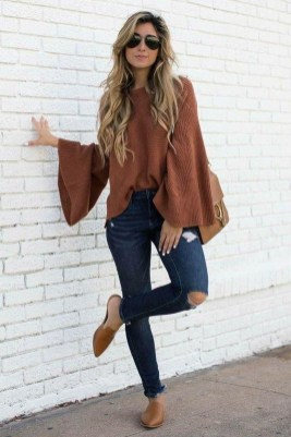 Adorable Winter Outfits Ideas With Jeans25