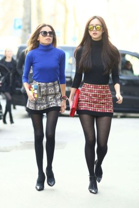 Affordable Winter Skirts Ideas With Tights06