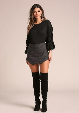 Affordable Winter Skirts Ideas With Tights24