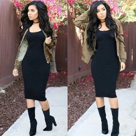 Amazing Winter Dresses Ideas With Boots07