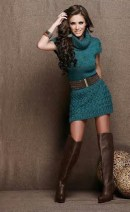 Amazing Winter Dresses Ideas With Boots09