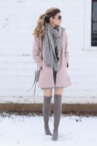 Amazing Winter Dresses Ideas With Boots11
