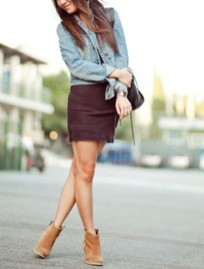 Amazing Winter Dresses Ideas With Boots33