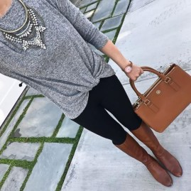 Best Winter Outfits Ideas With Leggings32