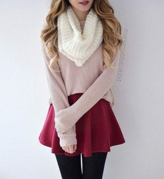 Classy Winter Outfits Ideas For School24