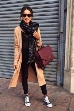 Classy Winter Outfits Ideas For School26