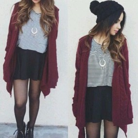 Extraordinary Winter Clothes Ideas For Teenage Girl34