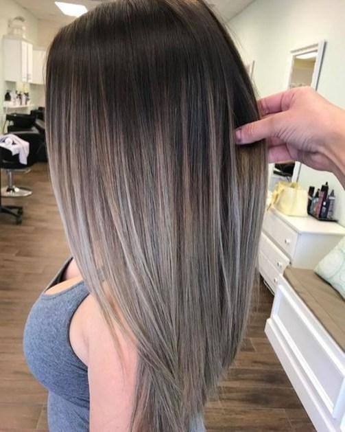 Fashionable Winter Hair Color Ideas39