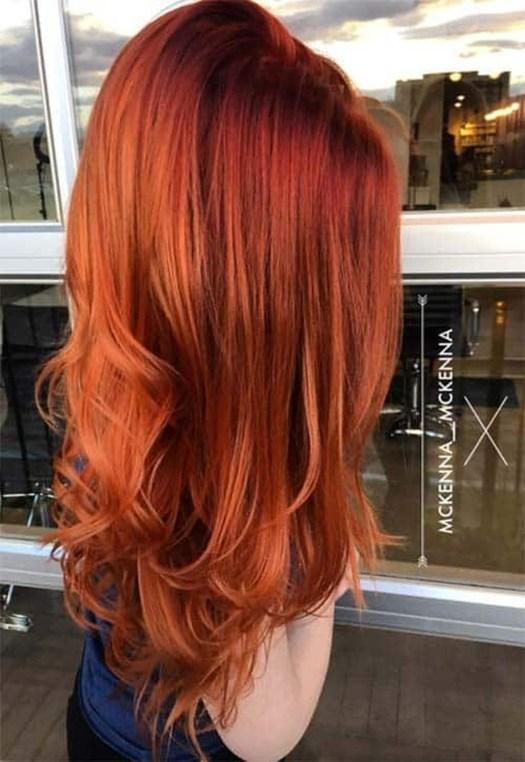 Fashionable Winter Hair Color Ideas42