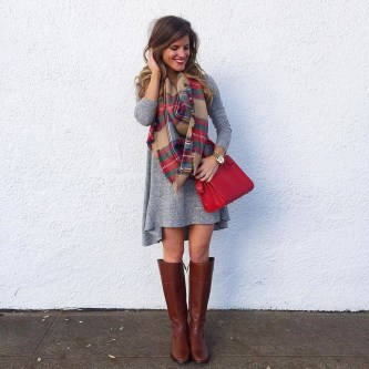 Flawless Winter Dress Outfits Ideas09
