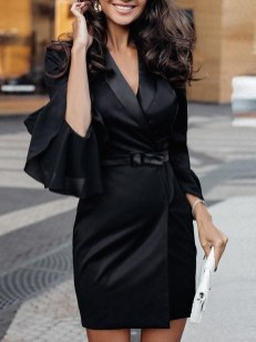 Flawless Winter Dress Outfits Ideas21