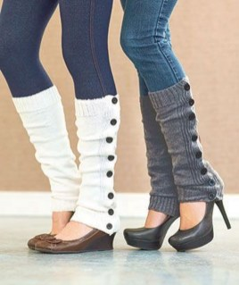Incredible Winter Outfits Ideas With Leg Warmers19