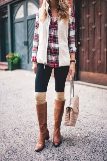 Incredible Winter Outfits Ideas With Leg Warmers29