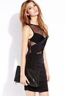 Perfect Black Mini Little Dress Ideas For Valentines Day05