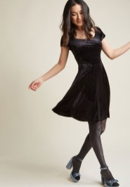 Perfect Black Mini Little Dress Ideas For Valentines Day10