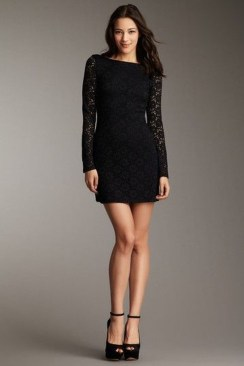 Perfect Black Mini Little Dress Ideas For Valentines Day18