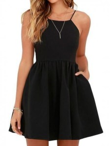 Perfect Black Mini Little Dress Ideas For Valentines Day41