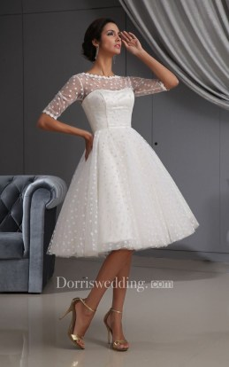 Perfect Winter White Dresses Ideas With Sleeves06