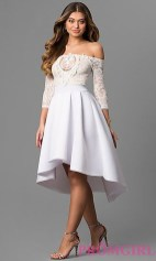 Perfect Winter White Dresses Ideas With Sleeves28
