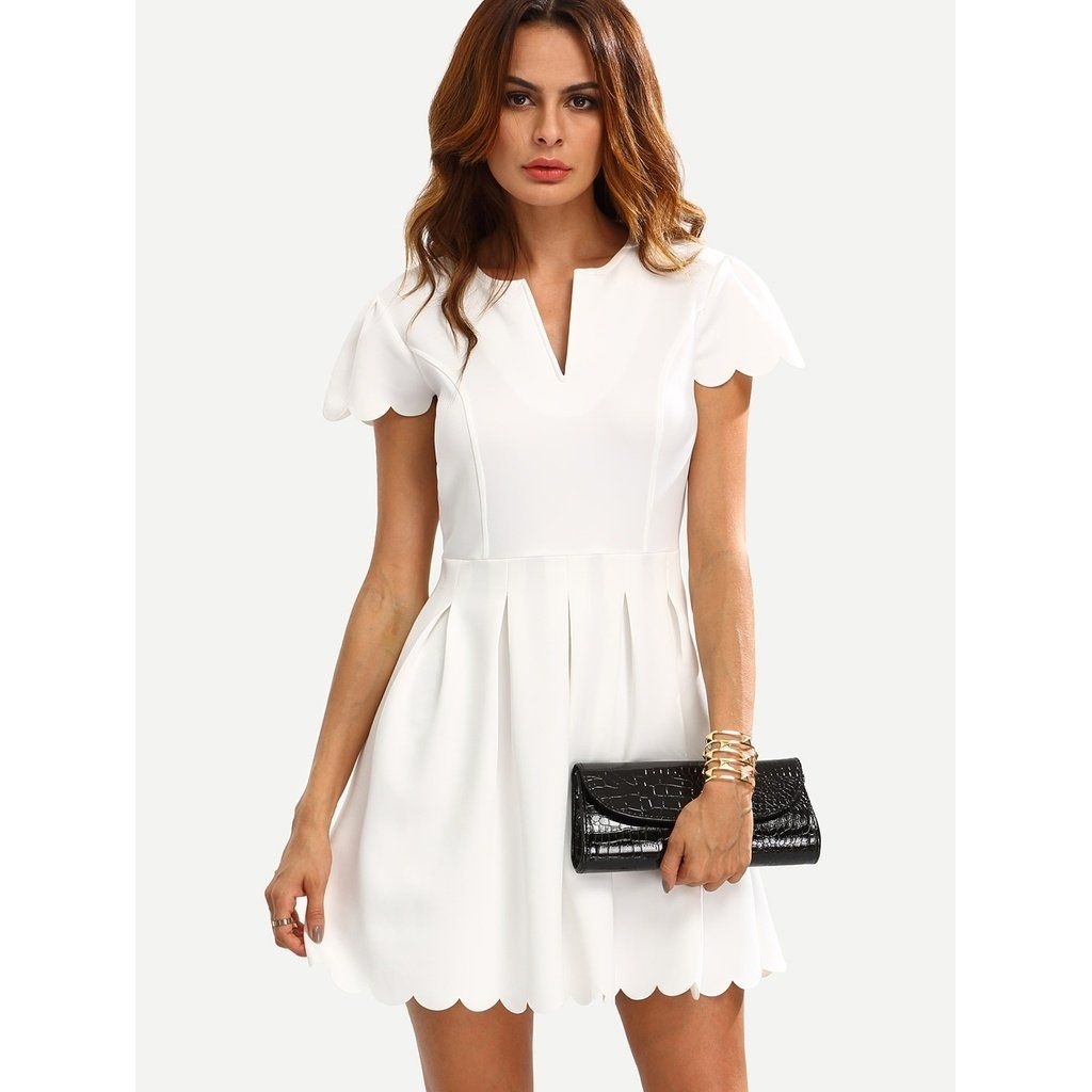 Perfect Winter White Dresses Ideas With Sleeves39