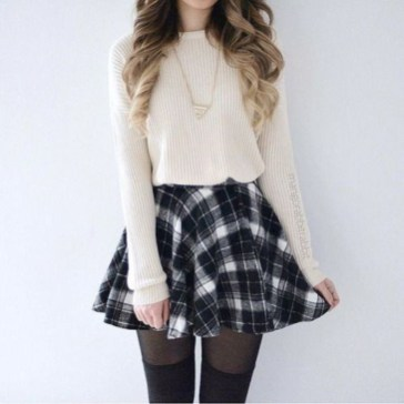 Simple Winter Outfits Ideas For School24