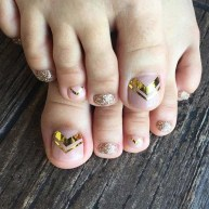 Stunning Toe Nail Designs Ideas For Winter23
