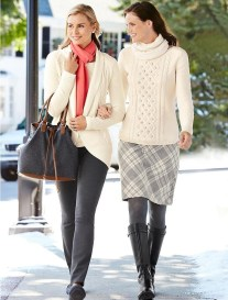 Stunning Winter Outfits Ideas With Skirts20