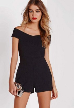 Adorable Black Romper Outfit Ideas36