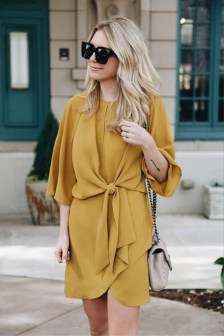 Cute Yellow Outfit Ideas For Spring01