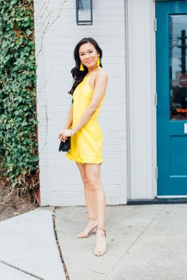 Cute Yellow Outfit Ideas For Spring07