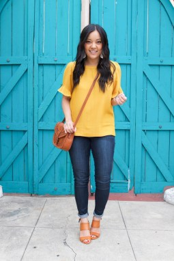 Cute Yellow Outfit Ideas For Spring25
