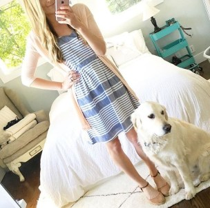 Fashionable Dress Outfit Ideas For Spring02