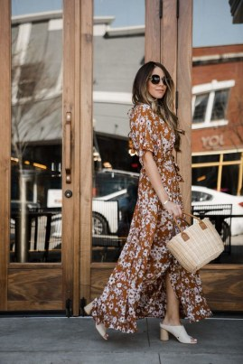 Fashionable Dress Outfit Ideas For Spring16