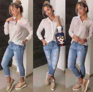 Latest Jeans Outfits Ideas For Spring02