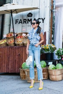 Latest Jeans Outfits Ideas For Spring14