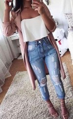 Lovely Spring Outfits Ideas With White Top04